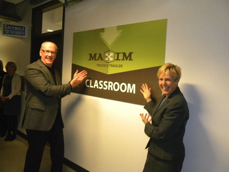 Maxim Classroom at Red River College