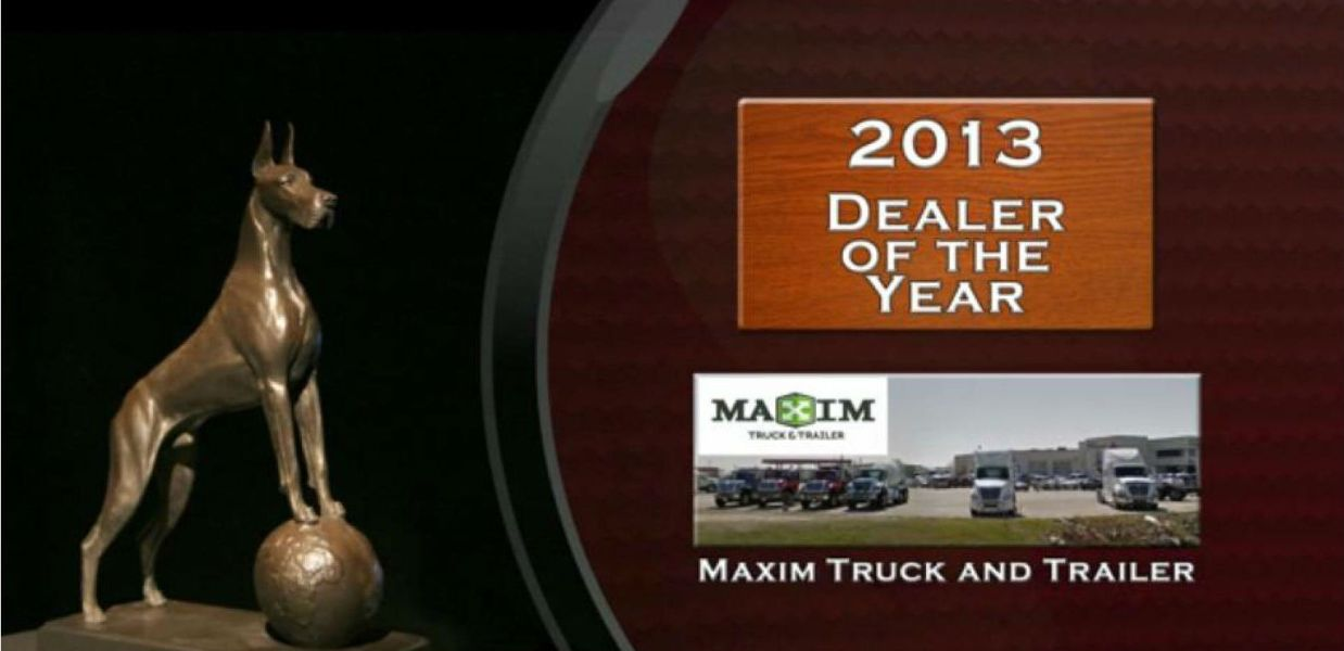 Maxim Wins Dealer of the Year Award