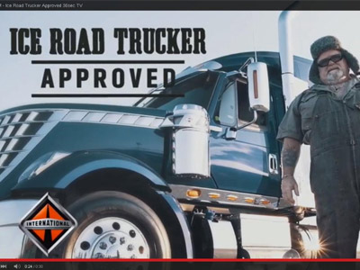 Maxim Ice Road Trucker Approved TV Ad