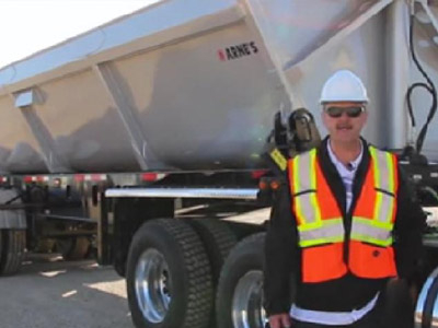 Take a Video Tour of Arne's New Ultramax Side Dump!