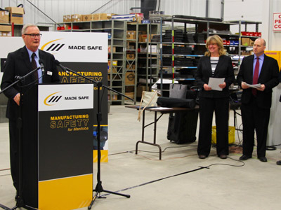 Arne's Welding Hosts Introduction of New Manitoba Manufacturing Safety Council