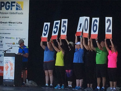 Challenge for Life raises $955,062 for CancerCare Manitoba Foundation