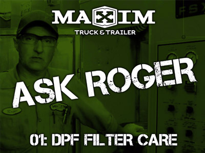 Ask Roger! DPF Filter Cleaning & Baking