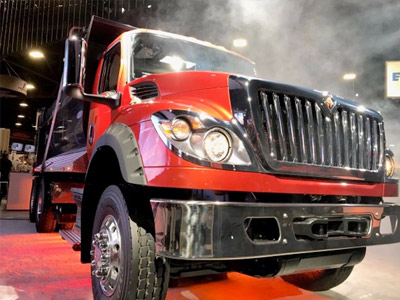 International reveals the new HV vocational truck