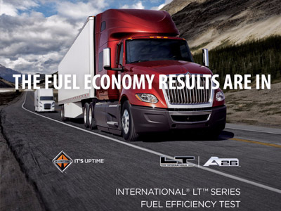The International LT Fuel Economy results are in.