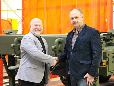 Arne's Welding Completes 100th LHS Trailer
