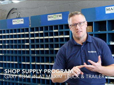 Gary Romijn talks about Maxim's Shop Supply Program