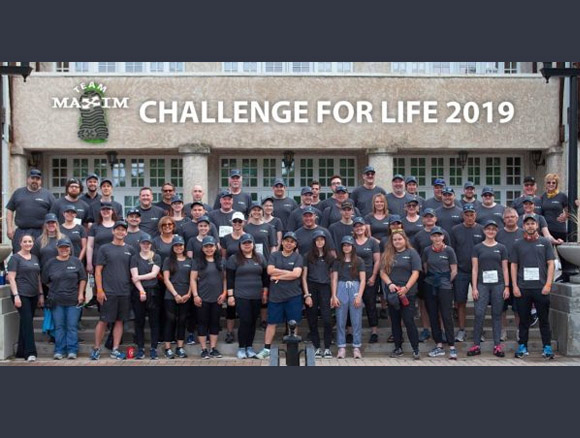 Maxim's Partnership with Challenge for Life