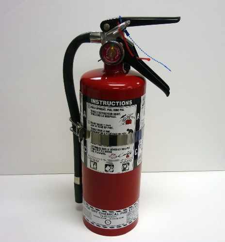 FIRE EXT, 2.5LB W/VEHICLE BRK - FX1010