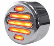 2FLATLINE CLEAR AMBER LED
