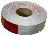 TAPE, 3M RED/WHITE PER FOOT