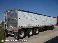 2021 Timpte Tridem Grain Hopper - Stock Photo