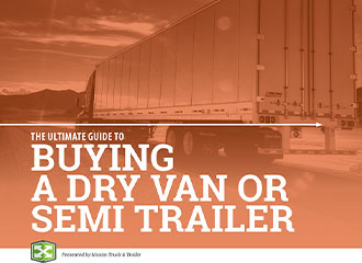 buying a dry van or semi trailer