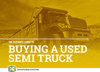 buying a used semi truck