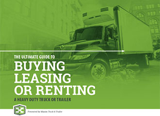 buying renting or leasing heavy duty truck or trailer