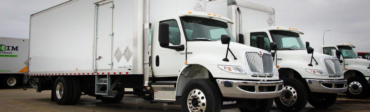 new and used dry van trucks for sale in Canada