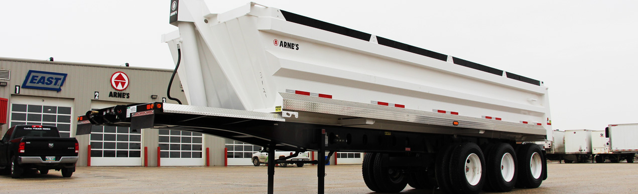 new and used end dump trailers for sale in Canada