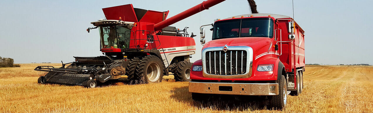 new and used grain trucks for sale in Canada