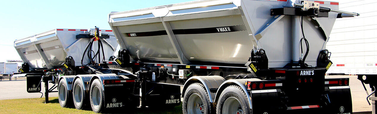 new and used gravel trailers for sale in Canada