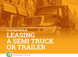leasing a semi truck or trailer