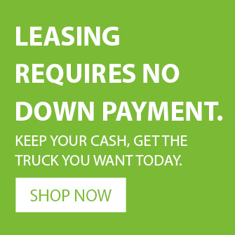 leasing requires no down payment