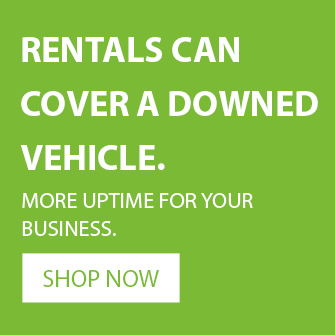 rentals mean more uptime for your fleet