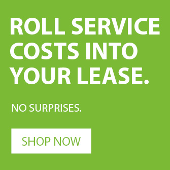 service costs rolled into lease